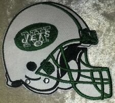 "New York Jets Helmet 3.5"" Iron On Embroidered Patch ~USA Seller~FREE Ship"