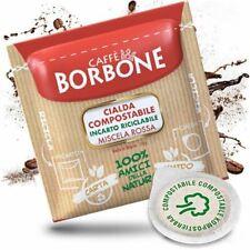 300 CIALDE IN CARTA ESE 44MM CAFFE' BORBONE MISCELA ROSSA ORIGINALI - BOX da 150