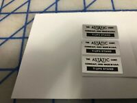 Astatic  T-UG 9 STAND Base Microphone Restore Decal