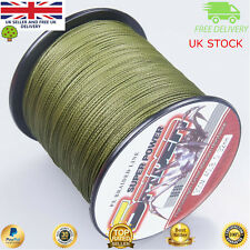 Super Dyneema 100-2000M  12-90LB Fishing Braid Carp Line Army Green Spod Marker