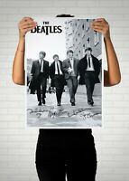 The Beatles Autographed Poster Print. Great Mancave/ Memorabilia