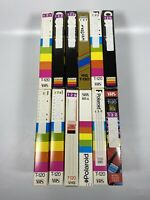 Lot Of 12 Pre-Recorded Mix Label T-120  VHS Tapes Sold As Used Blanks