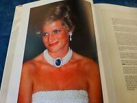 DIANA ,livre  portrait ,sa vie ,préface  nelson mandela,365pages bcp de photos