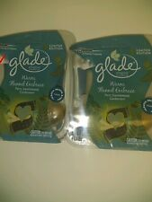 4 Glade WARM FLANNEL EMBRACE Plugins Scented Oil Refill Air Freshener Cardamom