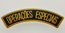 Portugal MOZAMBIQUE Special Forces PARA Shoulder Title Aluminium badge RARE ITEM