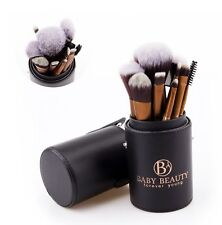 12Pcs Professional Makeup Brush Tool Sets with Brush Holder by Baby Beauty