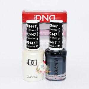 DND Daisy Soak Off Gel Polish Duo full size .5oz (P1)