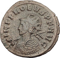 PROBUS shaking hands with Concordia 279AD Authentic Ancient Roman Coin i63608