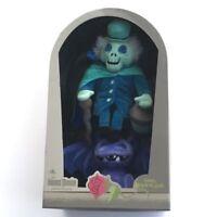 Disney Parks Haunted Mansion Hatbox Ghost Limited Glow In Dark Plush Gargoyle
