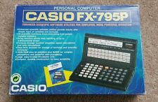 Casio FX-795P en Caja computadora personal-artículo de coleccionistas