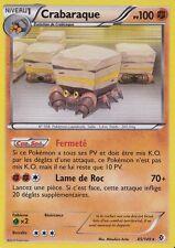 Crabaraque Holo- N&B -Frontieres Franchies- 85/149-Carte Pokemon Neuve France