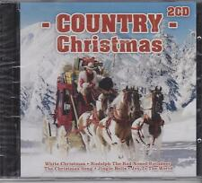COUNTRY CHRISTMAS - VARIOUS ARTISTS - 2 CD's NEW