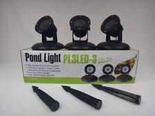 LED - Teichstrahlerset PL3LED3 von Jebao