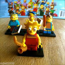 LEGO 71005 THE SIMPSONS Minifigures LISA RALPH NELSON MILHOUSE SEALED Minifigs 4