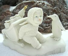 Department 56 SNOWBABIES:  STUCK IN THE SNOW Circa 1998 ONLY  ON SALE!!!!