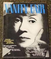 Vanity Fair November 1983 PB Issue Photography of Helmut Newton David Bowie
