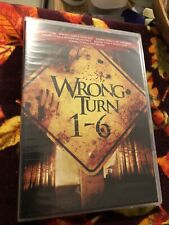 WRONG TURN 1-6: COMPLETE DVD COLLECTION Horror New