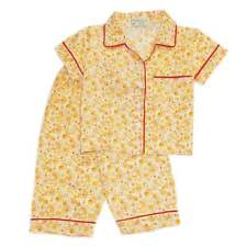 Girls Baby/Toddler Woven B/D Floral Print #1020 Pajama Set Sleepwear, XS (2T-3T)