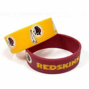 Washington Redskins - Silicone Rubber Bracelet Set