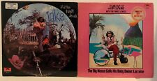 JAKE AND THE FAMILY JEWELS LOT OF 2 LPs - 1970 s/t (NM) 1972 big moose (VG+) WLP