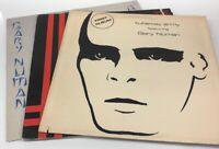 Gary Numan Vinyl LP Record SynthPop Post-Punk 1978 Lot of three Vinyls