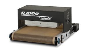 "Vastex D-1000 26"" Belt by 56"" Length Table Top Conveyor Dryer, Screen Printing"