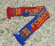 FC Barcelona Soccer Scarf ~ Summer Tour 2013