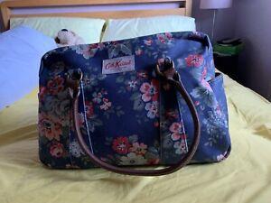 Blue Floral Cath Kidston Large Shoulder Bag