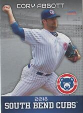 2018 South Bend Cubs Cory Abbott RC Rookie Chicago Minor