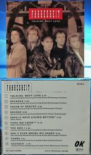 Fahrenheit - Talking Bout Love (CD,1989, OK-Musica, Austria) Original HYPER RARE