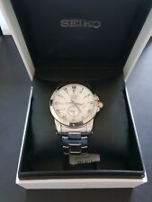 SEIKO PREMIER KINETIC PERPETUAL CALENDAR GOOD USED CONDITION  BOXED