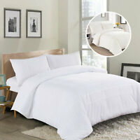 Luxurious 3 Piece Quilt Lace Embroidered Duvet Cover Bedding Set With Pillowcase