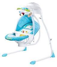 Caretero Bugies Babyschaukel Babywippe Blau