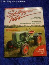 Schlepper Post 1/07 Mercedes Dieselschlepper OE Normag Faktor 1