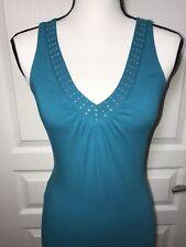 Express Woman Blouse Size XS sleeveless V- neck Top shirt