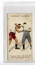 (Jc7077-100)  CHURCHMANS,BOXING,STEPPING INSIDE A LEFT LEAD,1922,#17