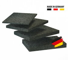 BAUHELD® Terrassenpads [90x60] 3mm 6mm 8mm 10mm Bautenschutzmatte Gummigranulat