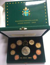Vaticaan / Vatican Proof set 1 cent - 2 euro PP 2005