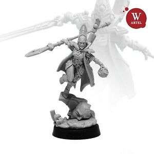 The Seeress - Harlequin Shadowseer by Artel W - Craftworld Aeldari (Eldar)