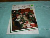 Classic Christmas With Doilies Crochet Pattern Book