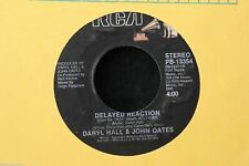 Daryl Hall & John Oates Delayed Reaction b/w Maneater 45-rpm Record