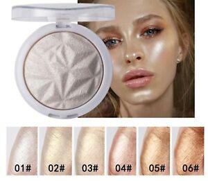 Cheek Face Eye Shine Shimmer Pearl Highlight Contour Brightener Bronzer Powder