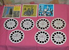 ROCKEFELLER CENTER & NEW YORK CITY VIEW-MASTER REELS LOT Tour No. 2 & At Night