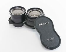 Mamiya Sekor 55mm f/4.5 Wide Angle Lens For TLR C330 C220 from Japan