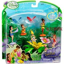 Disney Fairies Tinkerbell Great Fairy Rescue Talent Series 3 New 5 Pixie Figures