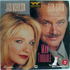 Laserdisc Man Trouble WIDESCREEN VG+