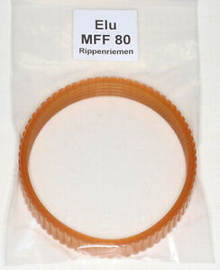 Antriebsriemen Rippenriemen für Elektrohobel ELU MFF 80 / MFF80 - Rippenversion