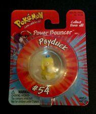 Vintage Hasbro Pokemon Power Bouncer #54 Psyduck Bouncy Ball Nintendo New 1999