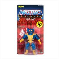 Super7 Masters of the Universe MOTU: Vintage Mer-Man 14 cm Action Figure NUOVO