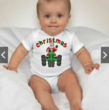 Baby First Christmas Holiday One piece - Santa Truck